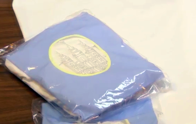 "This photo taken from a video provided by The Church of Jesus Christ of Latter-day Saints shows the ""temple garment"", a white, two-piece cotton clothing worn by church members.  The Morm ..."
