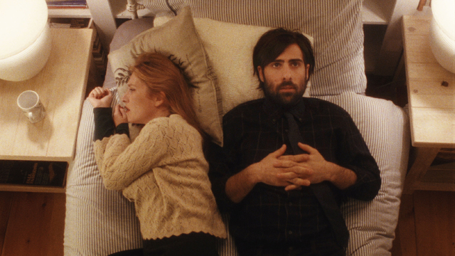 """This photo released by Tribeca Film shows, Jason Schwartzman, right, and Josephine de la Baume in a scene from the film, """"Listen Up Philip,"""" distributed by Tribeca Film. (AP Photo/Tribec ..."""