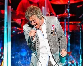 Vocalist Roger Daltrey of The Who (Las Vegas Review-Journal file)