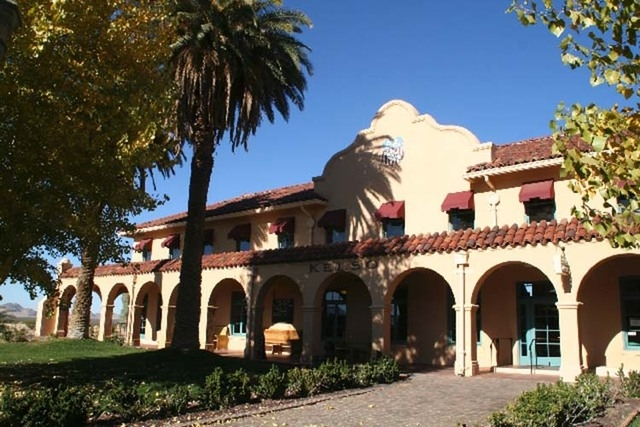 Kelso Depot, a former Union Pacific train station that was completed in 1924, now serves as the main visitor center for California's Mojave National Preserve. (LAS VEGAS REVIEW-JOURNAL FILE PHOTO)