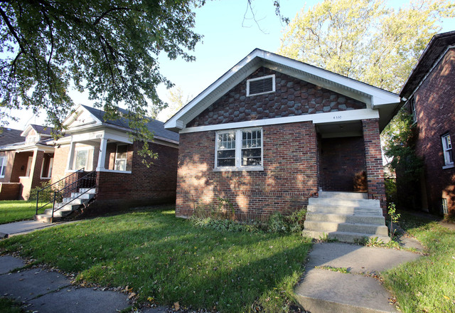 One of the homes in which a body was found is seen Monday, Oct. 20, 2014, in Gary, Indiana. The bodies of seven women have been found in northwestern Indiana after a man confessed to killing one w ...