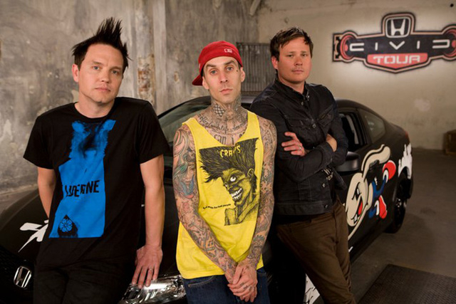 Blink 182 is working on a new album, due to come out in summer 2015. (Courtesy/Blink 182/Facebook)