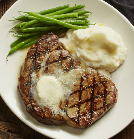 Rib eye is a non-seafood option at Bonefish Grill. (Special to View)