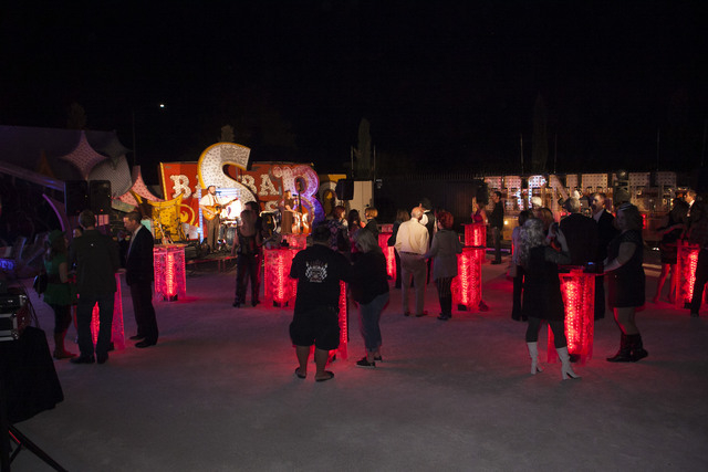 """The Boneyard Bash is scheduled from 7 to 10 p.m. Oct. 31 at the Neon Museum, 770 Las Vegas Blvd. North. Festivities are set to include entertainment, appearances by the Las Vegas cast of """"Evil Dea ..."""