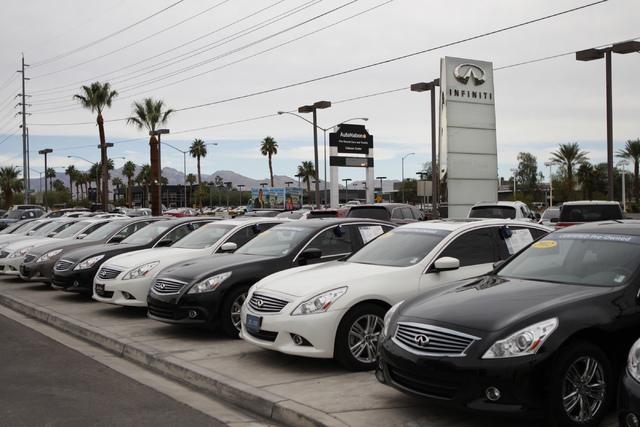 Auto dealers slowly embracing report of sale program las for Park place motors service