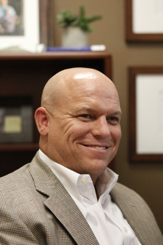Bryce Wisan, president of the Nevada CPA Society chapter, is interviewed at his office in Las Vegas Tuesday, Oct. 7, 2014. Wisan is the manager of the Wisan, Smith, Racker & Prescott LLP in Las Ve ...