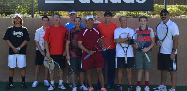 The Crohn's & Colitis Foundation of America hosted its first Las Vegas Golf & Tennis Classic Oct. 27 at Red Rock Country Club, 2250 Red Springs Drive. The event, which included a silent auction, r ...