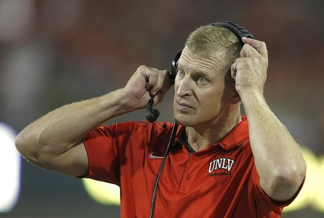 UNLV coach Bobby Hauck and his team have suffered three straight defeats to drop to 1-4, and the Rebels badly need a victory at San Jose State today to keep alive any distant chance of gaining a b ...