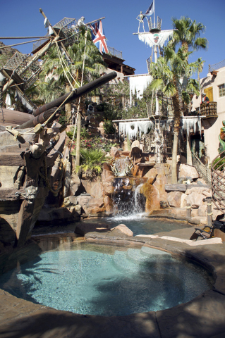 The property features pools and water slides. (Art Nadler/Real Estate Millions)