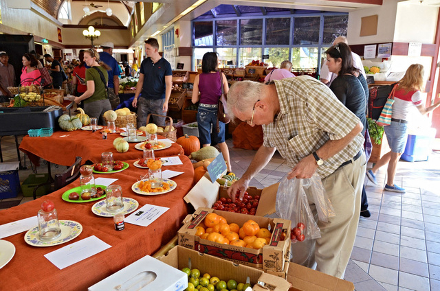 Downtown3rd's Farmer's Market is scheduled to offer produce, baked goods, crafts and more from 9 a.m. to 2 p.m. Fridays at 300 N. Casino Center Drive. For more information, visit downtown3rdfa ...
