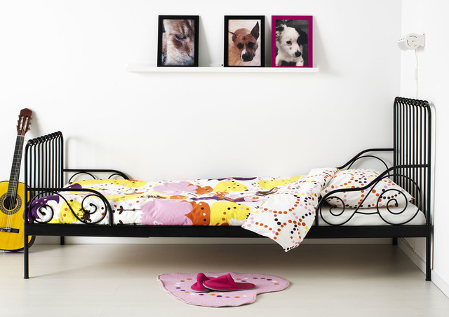 Courtesy IKEA Ikeas Minnen Bed Is Extendable So It Can Be Pulled Out As A