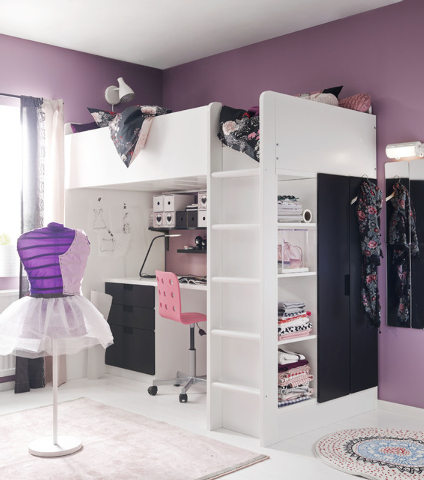Courtesy Ikea S New Stuva Loft Bed Combo Is More Than Just A Child Friendly