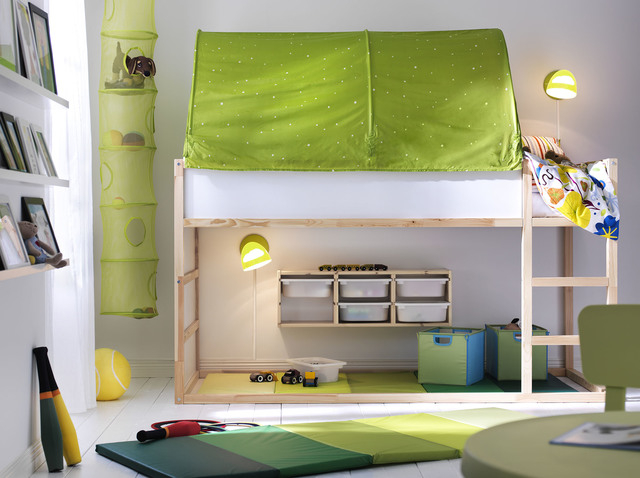 Courtesy Ikea Turned Upside Down S Kura Bed Quickly Converts From A Low To High Las Vegas Review Journal