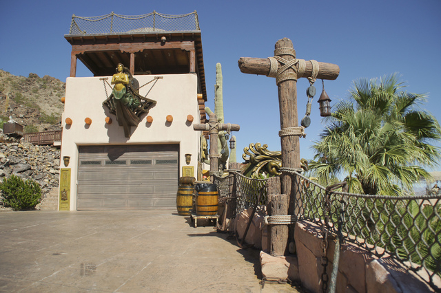The Casita residence is one of five buildings at Pirate's Cove. (Art Nadler/Real Estate Millions)