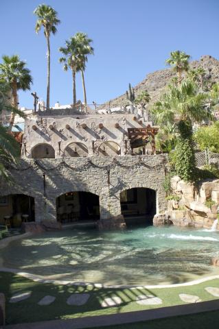 Pirate's cove in Boulder City. (Art Nadler/Real Estate Millions)