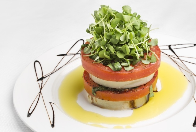 House-made mozzarella and tomato at Martorano's (courtesy).