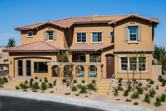 """Courtesy photo Capistrano by Ryland Homes offers four new floor plans with rooftop decks, three-bay garages and unique designs including an """"upside-down"""" floor plan and a courtyard pool option."""