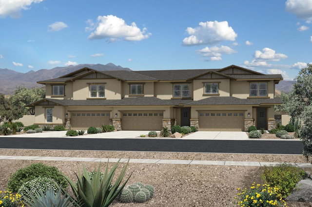 Vista dulce offers gated luxury townhome neighborhood for Luxury townhome plans