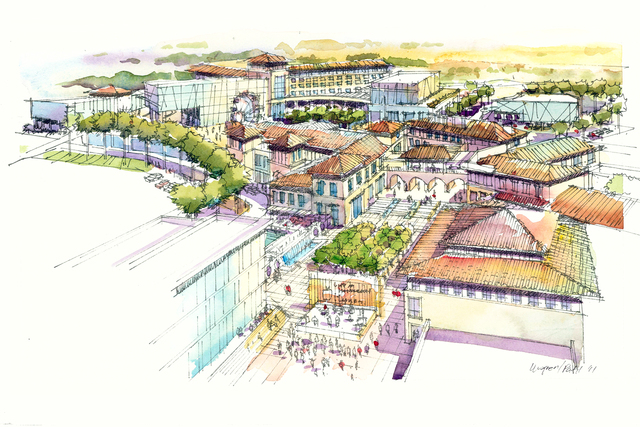 Union Village will break ground on Wednesday. An acute-care hospital will be the first facility to begin construction. (Courtesy)