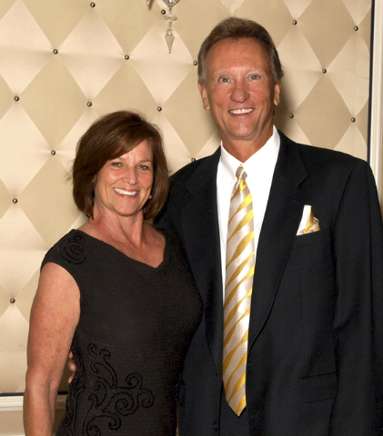 Tamara and Jay Kornmayer (Marian Umhoefer/Las Vegas Review-Journal)