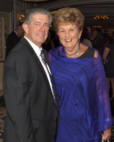 Michael and Carol Harter (Marian Umhoefer/Las Vegas Review-Journal)