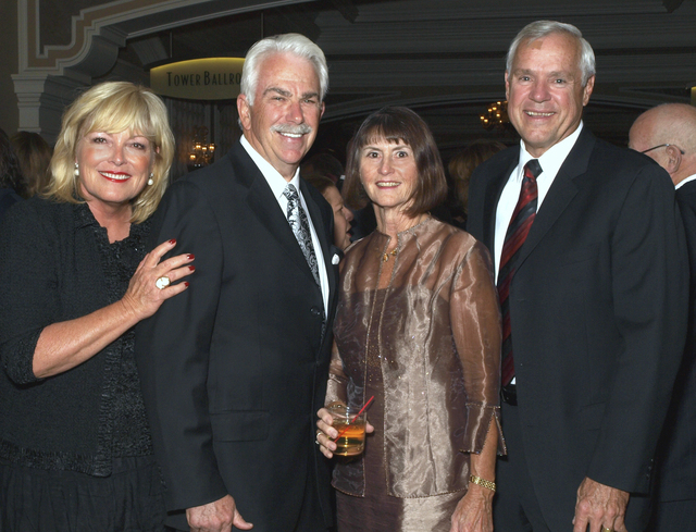 Genene and William Boldt, from left, and Denise and Dan Klaich (Marian Umhoefer/Las Vegas Review-Journal)