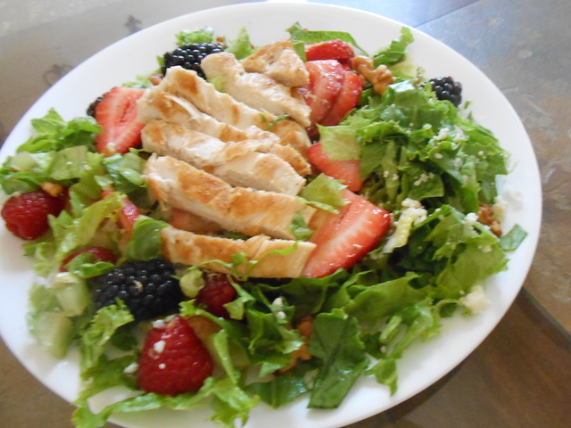 The Berry Salad is shown at The Cracked Egg. (Jan Hogan/View)