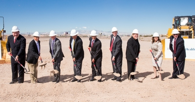Union Village LLC and The Valley Health System host a ceremonial groundbreaking to kick off construction of the $1.2 billion project, with Valley breaking ground on a new acute care hospital, its  ...