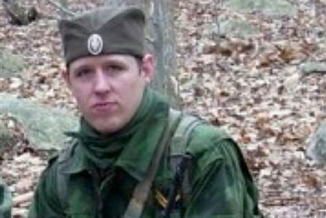 A Pennsylvania school district closed on Tuesday, Oct. 21, 2014, after another possible sighting of Eric Frein, the sniper accused of killing one state trooper and wounding another, near a post of ...