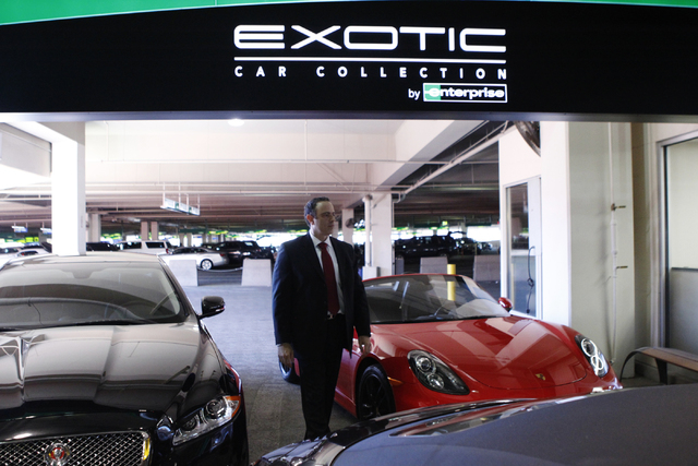 Mccarran S Rent A Car Expands With Exotic Sports Car Models Las