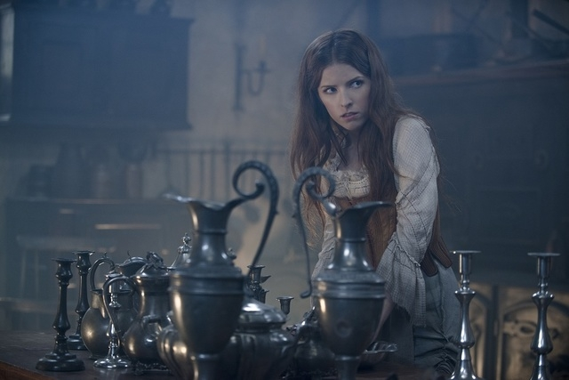 """Anna Kendrick stars as Cinderella in """"Into the Woods."""" In theaters Dec. 25, 2014, the film showcases familiar characters and stories with a surprising twist that calls into question the idea o ..."""