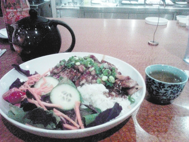 Fat Choy features Asian favorites and traditional American fare. (Gina Pearl/Special to View)