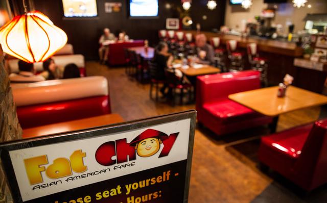 People Dine At Fat Choy Inside Eureka 595 E Sahara Ave In