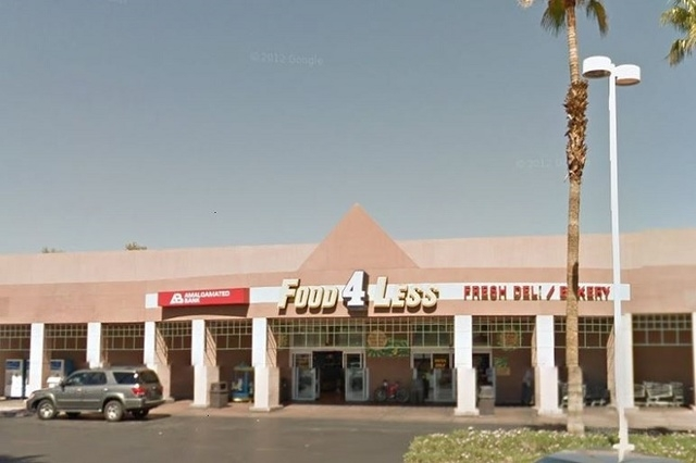Food 4 Less at 4001 S. Decatur Blvd. (Courtesy, Google Maps)