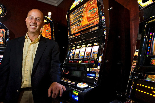 Gavin Isaacs, CEO of Scientific Games Corp. (Las Vegas Review-Journal file)