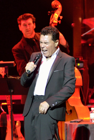 "Clint Holmes performs during ""Georgia on My Mind: Celebrating the Music of Ray Charles"" at The Venetian at 3355 Las Vegas Blvd. South, in Las Vegas on Saturday, Sept. 20, 2014. (Bill Hughes/Las Ve ..."