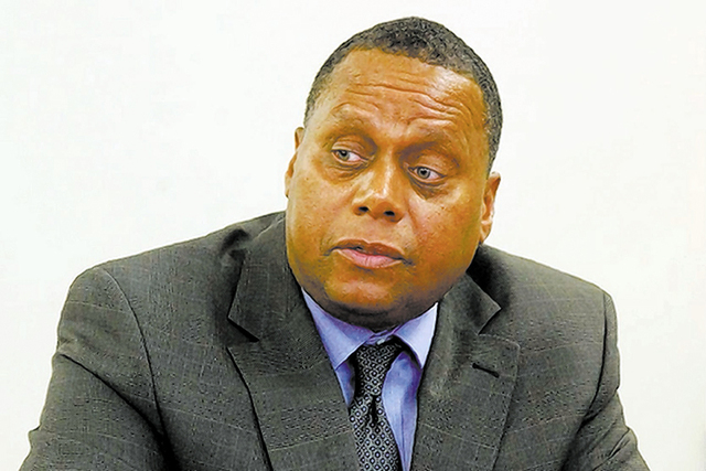Southern Nevada Regional Housing Authority Executive Director John Hill. (Las Vegas Review-Journal file)