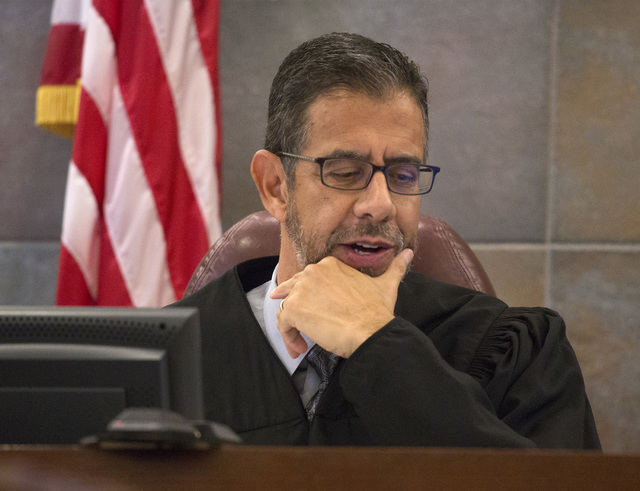 "Clark County District Court Judge Judge Michael Villani ruled the Democrat Jesse ""Jake"" Holder hasn't met the residency requirements as a candidate in Assembly District 10 during a hearing at the  ..."