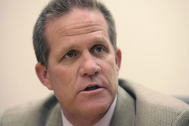 State Sen. Mark Hutchison. (Mark Damon/Las Vegas Review-Journal file photo)