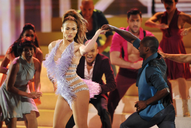 Jennifer Lopez performs at the American Music Awards at the Nokia Theatre L.A. Live on Nov. 24, 2013, in Los Angeles. Speculation is that Lopz may be considering her first Las Vegas headliner resi ...