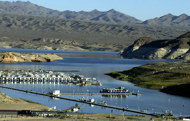 Echo Bay Marina at Lake Mead National Recreation Area is shown Oct. 25, 2007. (File, Las Vegas Review-Journal)