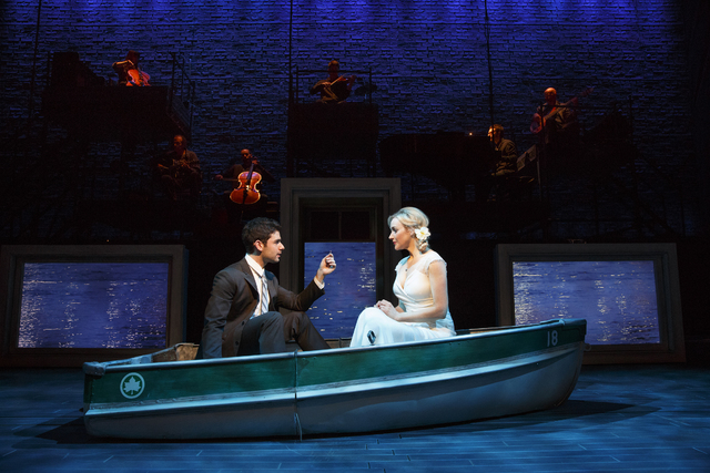 """Betsy Wolfe and Adam Kantor are slated to reprise their roles in """"The Last Five Years"""" in a limited engagement Nov. 6-9 at the Judy Bayley Theatre at UNLV. (Joan Marcus/Special to View)"""