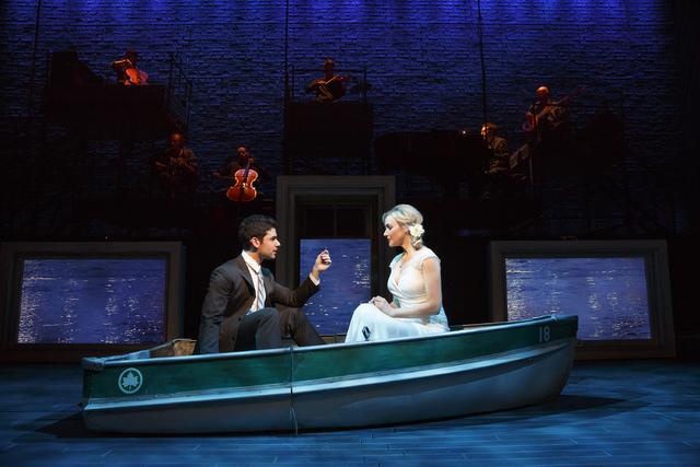 "Adam Kantor plays Jamie Wellerstein and Betsy Wolfe plays Cathy Hiatt in ""The Last Five Years."" (Courtesy)"