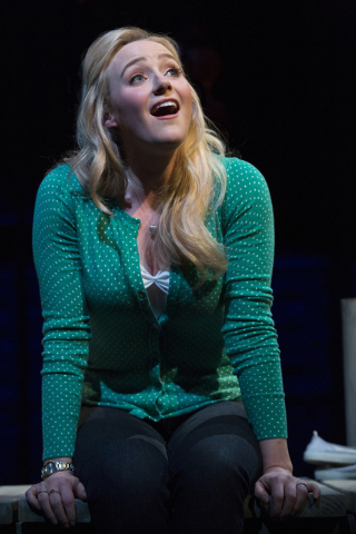 "Betsy Wolfe plays Cathy Hiatt in ""The Last Five Years."" (Courtesy)"