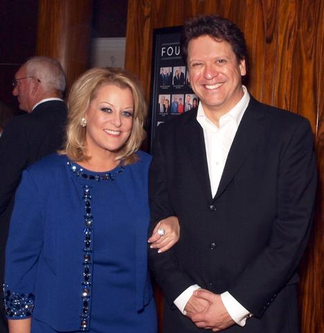 Dramatic soprano Deborah Voigt, and the Las Vegas Philharmonic Music Director Donato Cabrera (Marian Umhoefer/Las Vegas Review-Journal)