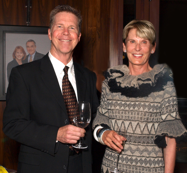 Ted Rexing and Jean McCusker (Marian Umhoefer/Las Vegas Review-Journal)