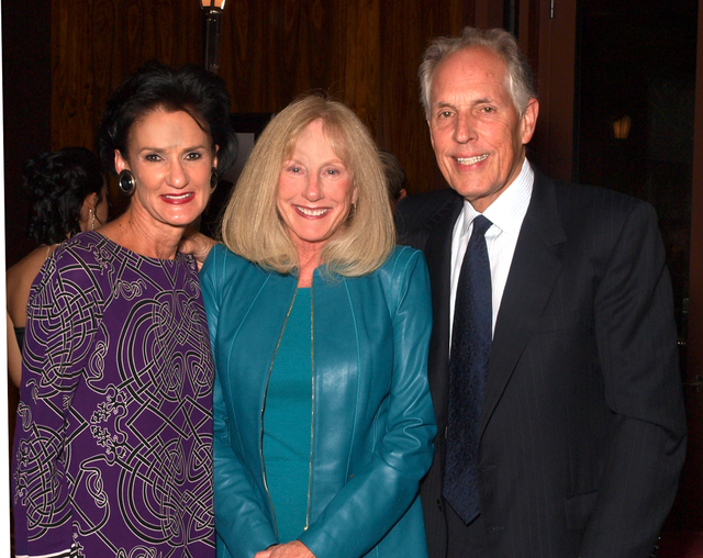 Mari Landers, from left, and Patty and Richard Wright (Marian Umhoefer/Las Vegas Review-Journal)