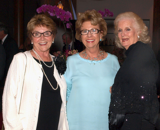 Cheryl Purdue, from left, Carolyn Sparks and Gayle Anderson