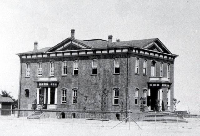 The courthouse in Hawthorne around the time Mineral County was established in 1911. The building was built decades earlier when Hawthorne served as the county seat of Esmeralda County before the s ...
