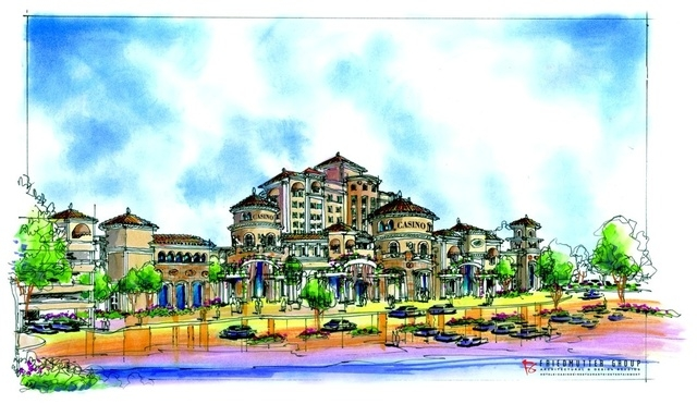Attached is an artist rendering of the proposed North Fork Rancheria Resort & Casino.  Please keep in mind that this rendering is only intended to show what the Tribe envisions the proposed resort ...